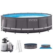 INTEX PISCINA ROTONDA ULTRA XTRFRAME 488X122 H CON STRUTTURA cod.26326