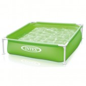 INTEX PISCINA MINI FRAME VERDE CM.122 x 122 x 30