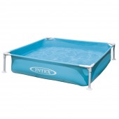 INTEX PISCINA MINI FRAME AZZURRA CM.122 x 122 x 30