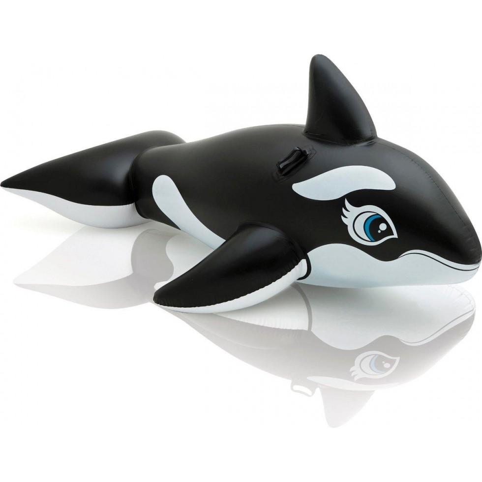 Intex cavalcabile orca gonfiabile x 119 for Accessori per piscine intex