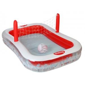 Bestway piscina rettangolare con rete pallavolo - Rete pallavolo piscina ...