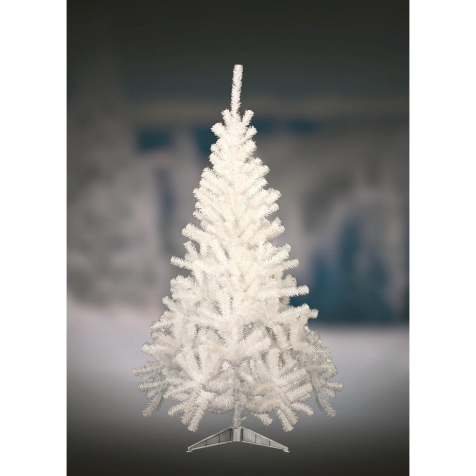 Albero Di Natale Bianco 90 Cm.Albero Di Natale Canadian Bianco Cm 150