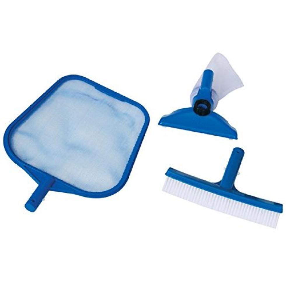 Intex 29056 set di pulizia per piscina retina for Accessori piscine intex
