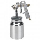 Einhell - Pistola a spruzzo per vernici con serbatoio inferiore- accessorio per compressori