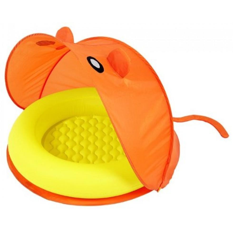 bestway piscina baby con tenda richiudibile mod topolino. Black Bedroom Furniture Sets. Home Design Ideas