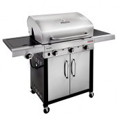 BARBECUE A GAS CHAR-BROIL PERFORMANCE 340S - 3 Fuochi con Tecnologia TRU-Infrared, Finitura Acciaio Inox