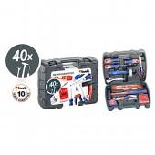 Kwb 370720 valigetta utensili plastica set 40 pezzi
