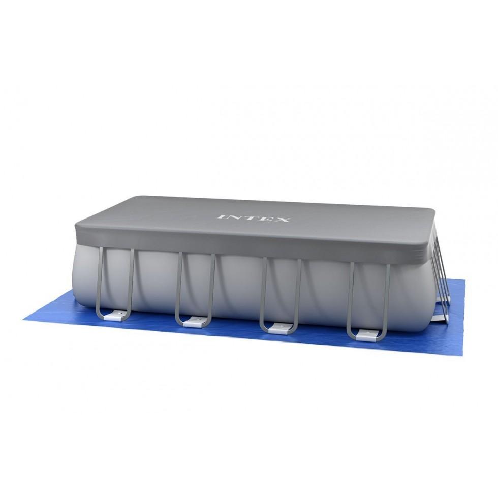 Intex telo copertura ultra frame rettangolare 549x274 cm for Accessori per piscine intex