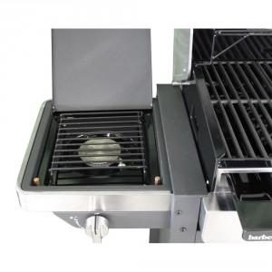 BARBECOOK BBQ GAS BRAHMA 4.2 CAPPA INOX CON FORNELLO