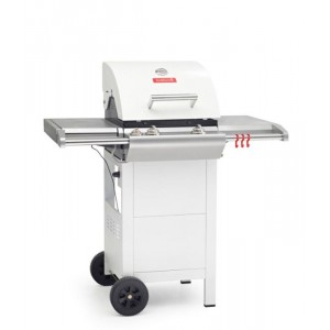 Barbecook - BARBECUE A GAS GAS IMPULSE 3.0 SNOW 2 FUOCHI CON CAPPA FORNO