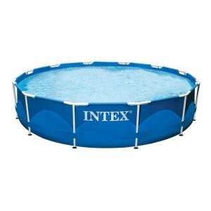 INTEX PISCINA ROTONDA FRAME 305X76 H CON STRUTTURA cod.28200