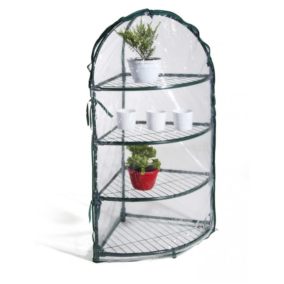 Serra angolare da giardino terrazzo balcone per piante in - Serre da giardino usate ...