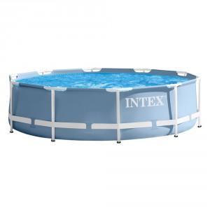 INTEX PISCINA PRISMA METAL FRAME 305X76 CON STRUTTURA cod.28702