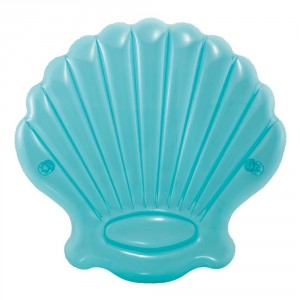 INTEX MATERASSINO GONFIABILE ISOLA CONCHIGLIA CM.191X191X25