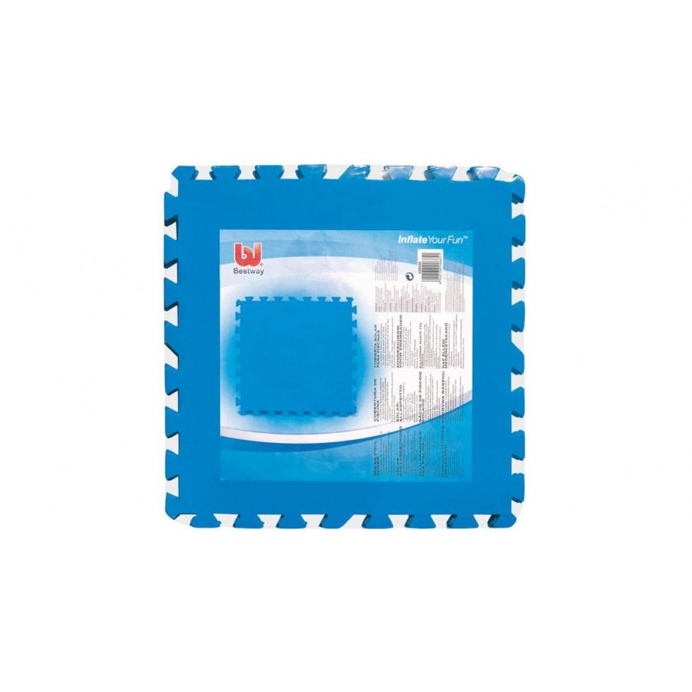 Bestway 58220 tappetino base per piscina in poliestere morbido x 50 - Tappetino per piscina ...