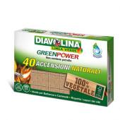DIAVOLINA ACCENDIFUOCO GREEN POWER 40 ACCENS. NATURALI
