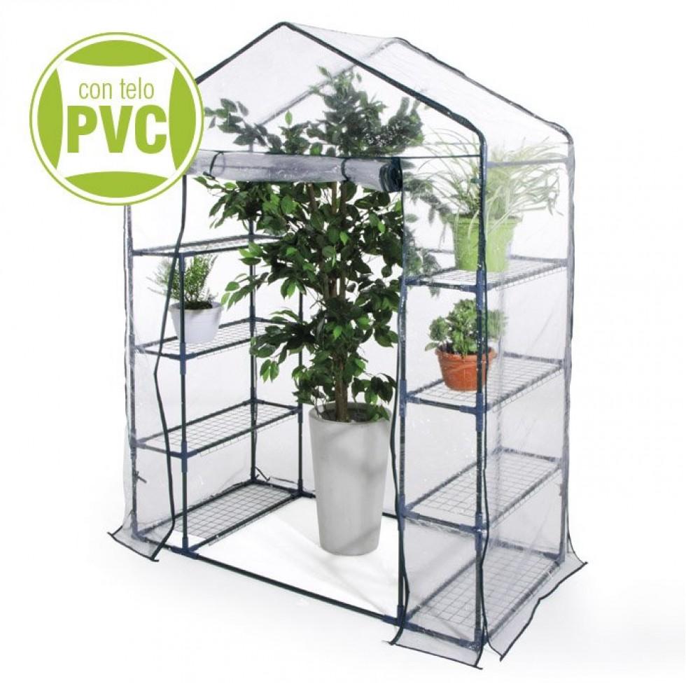 Serra da giardino terrazzo balcone per piante in metallo e for Mini serra da balcone