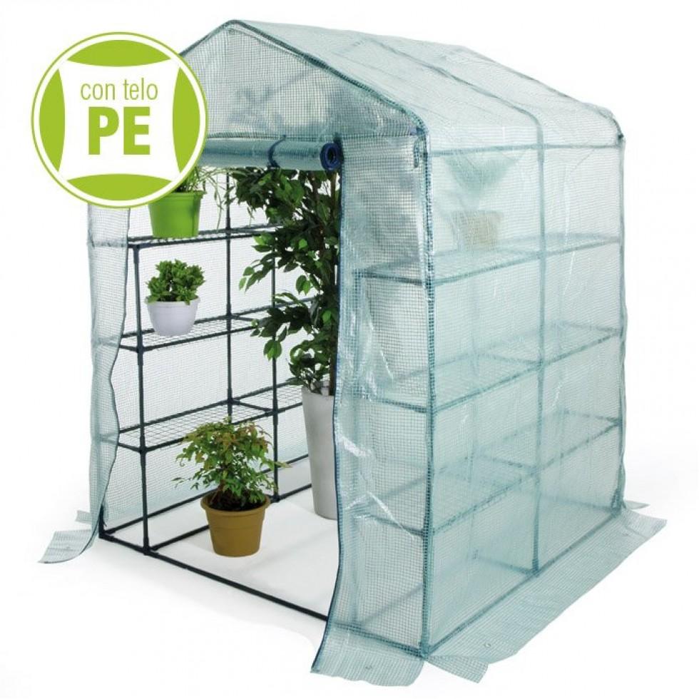 Serra da giardino terrazzo balcone per piante cm for Vendita piante e fiori da giardino