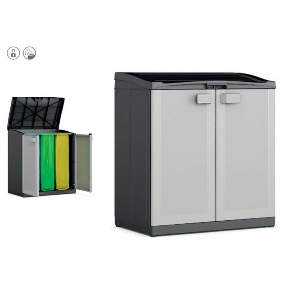 Contenitore compact store per raccolta differenziata - Bidoni per differenziata casa ...