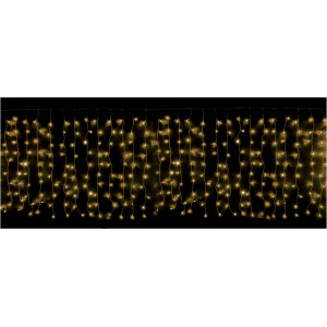 TENDA LUMINOSA 400 LED FUSION BIANCO-CALDO MT. 4,30 x 1,00