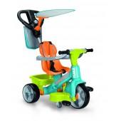 Famosa 700012260 - Feber Triciclo Baby Plus Music 360° con suoni 2 in 1