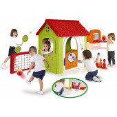 Famosa 800012606 - FEBER MULTI-ACTIVITY HOUSE 6 IN 1 Feber