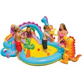 INTEX PISCINA DINOLAND PLAY CENTER CM.333 X 229 cod.57135