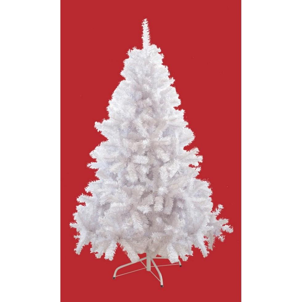Foto Alberi Di Natale Bianchi albero di natale bianco pike cm.180
