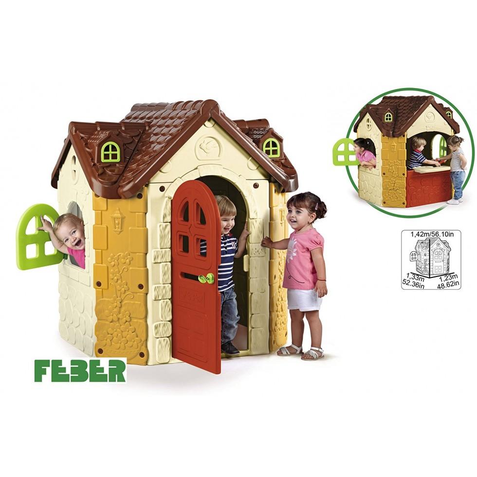 Famosa 800008573 fancy house manoir feber - Casetta da giardino per bambini feber ...