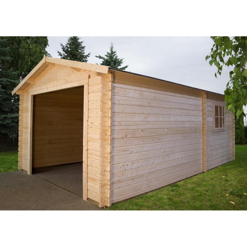 Casetta legno box auto - Garage da giardino ...