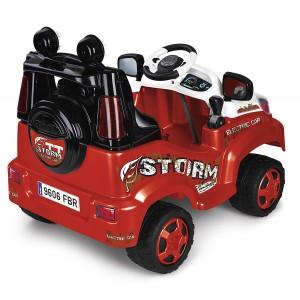 Famosa 800010940 - Feber TT Storm Elettrica, 6 V