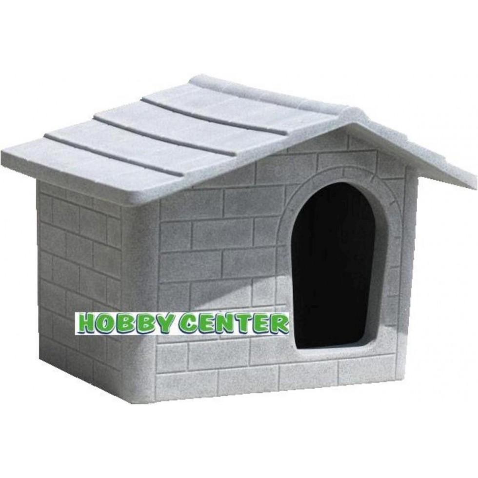 Cuccia per cani kasa piccola colore pietra vecchia for Cucce per gatti da esterno coibentate