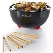 Barbecook Joya - Barbecue a carbonella da tavolo, in starter pack,diametro 30 cm, colore: nero