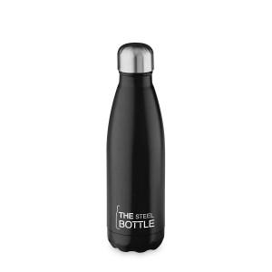 THE STEEL BOTTLE - Bottiglia Termica in Acciaio Inox ML.500 NERO
