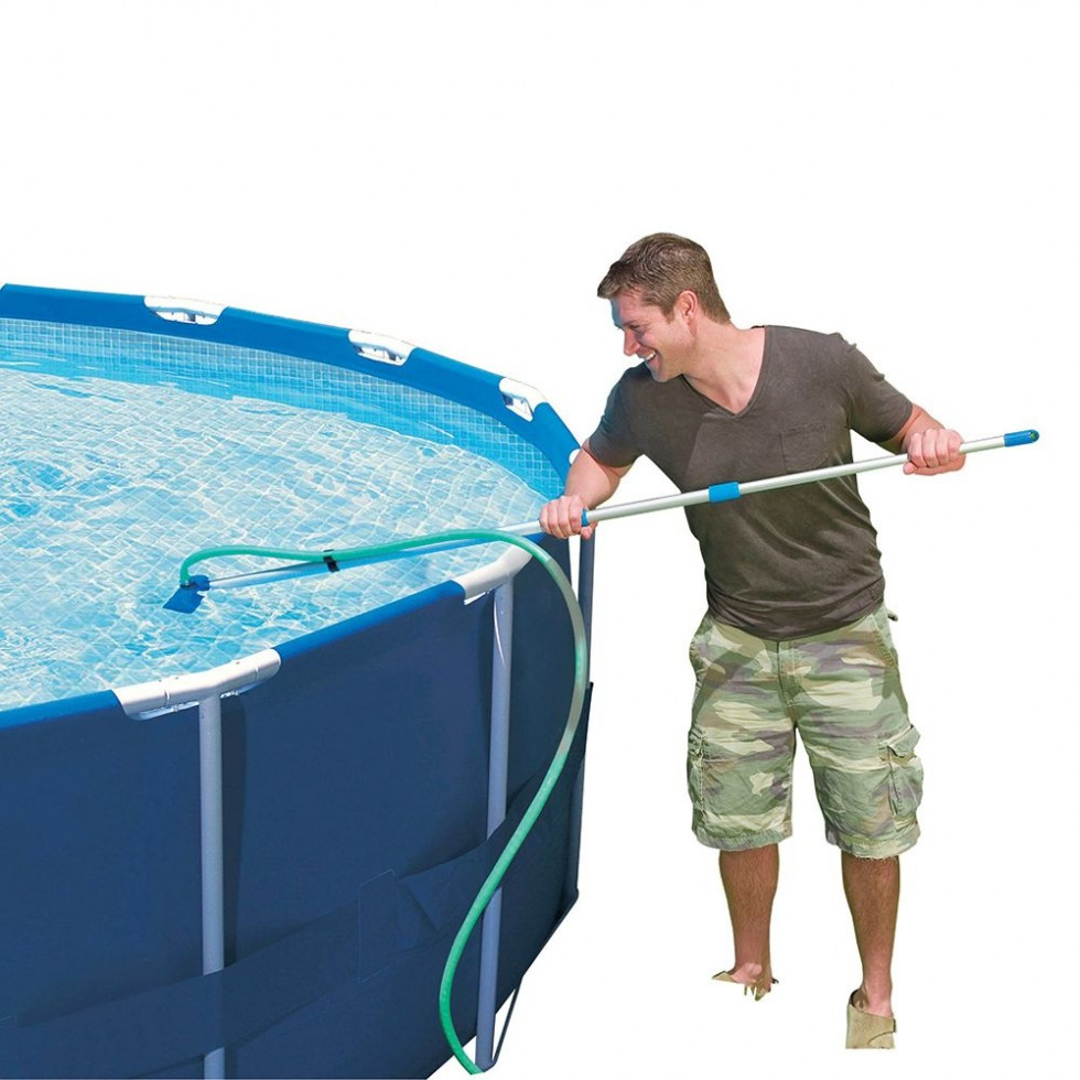 Intex kit pulizia piscina for Accessori per piscine intex