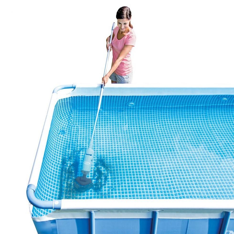 Intex auto cleaner pulitore ricaricabile per piscine cod for Accessori per piscine intex