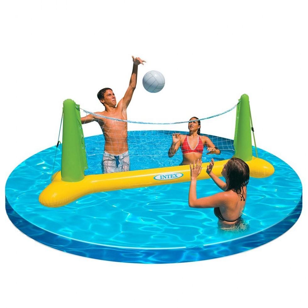 Intex gioco volley galleggiante cm 239 x 64 x 91 for Accessori per piscine intex