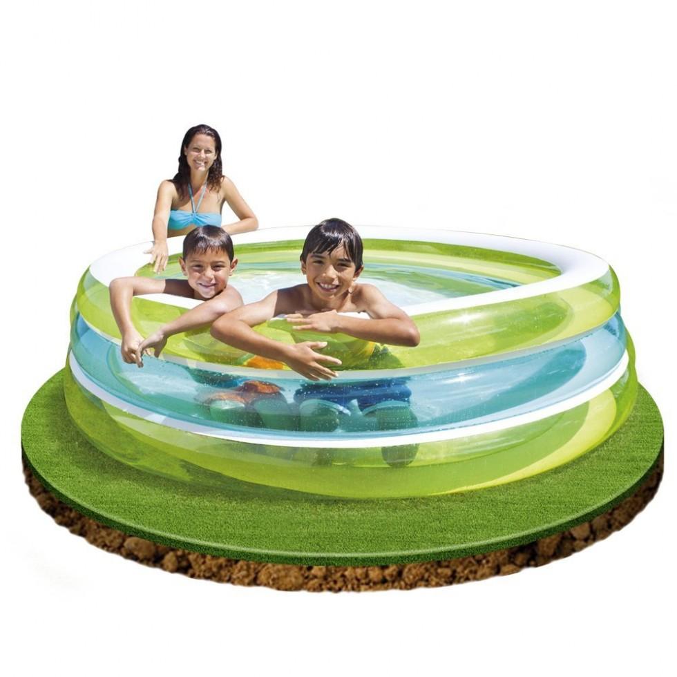 Intex piscina 3 anelli gonfiabili for Intex piscine