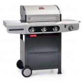 Barbecook - BARBECUE A GAS SIESTA 310 CERAM - 3 FUOCHI CON CAPPA FORNO E FORNELLO LATERALE