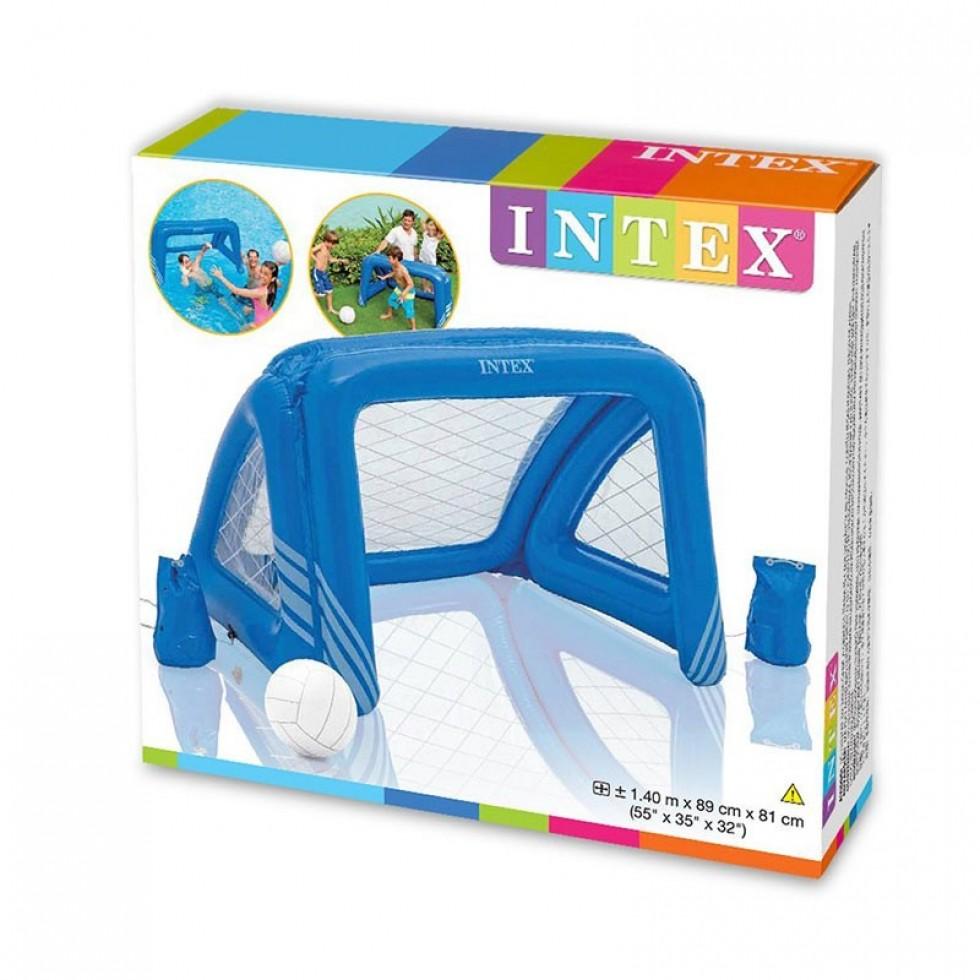 Intex porta da calcio e pallanuoto gonfiabile per piscina for Accessori per piscine intex