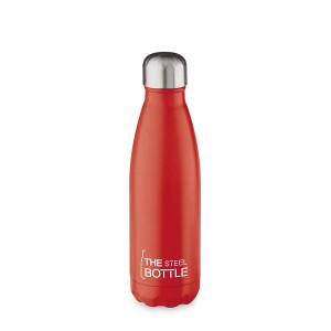 THE STEEL BOTTLE - Bottiglia Termica in Acciaio Inox ML.500 ROSSO