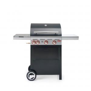 Barbecook - BARBECUE A GAS GAS SPRING 350 3 FUOCHI CON CAPPA FORNO E FORNELLO LATERALE