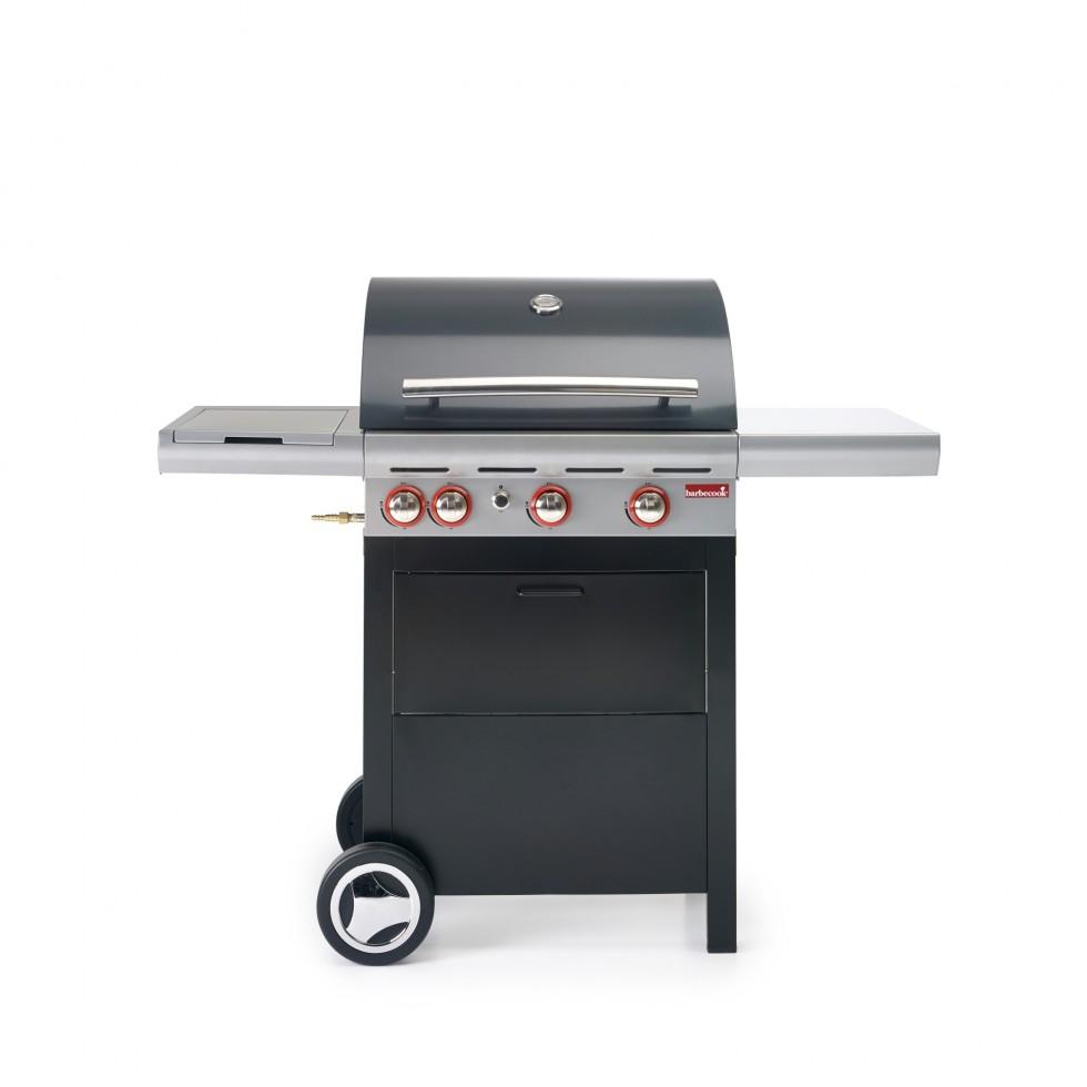 Barbecue a gas con cappa forno