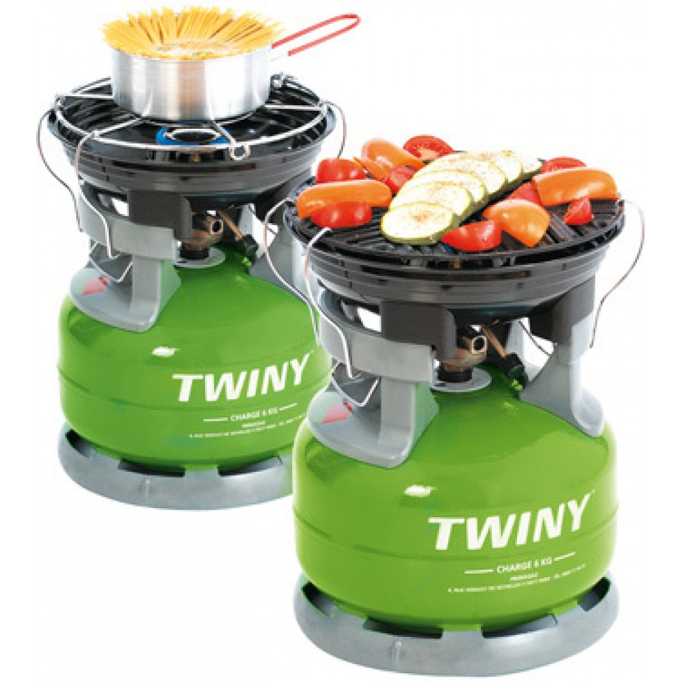 Fornello t grill per bombola twiny for Bombola gas 5 kg leroy merlin