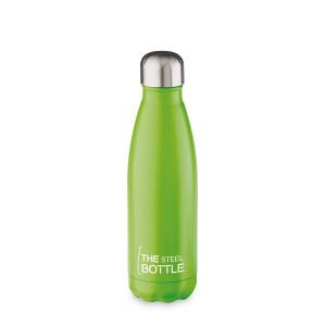 THE STEEL BOTTLE - Bottiglia Termica in Acciaio Inox ML.500 VERDE