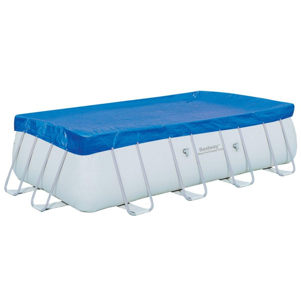 Bestway telo copripiscina frame for Accessori per piscine