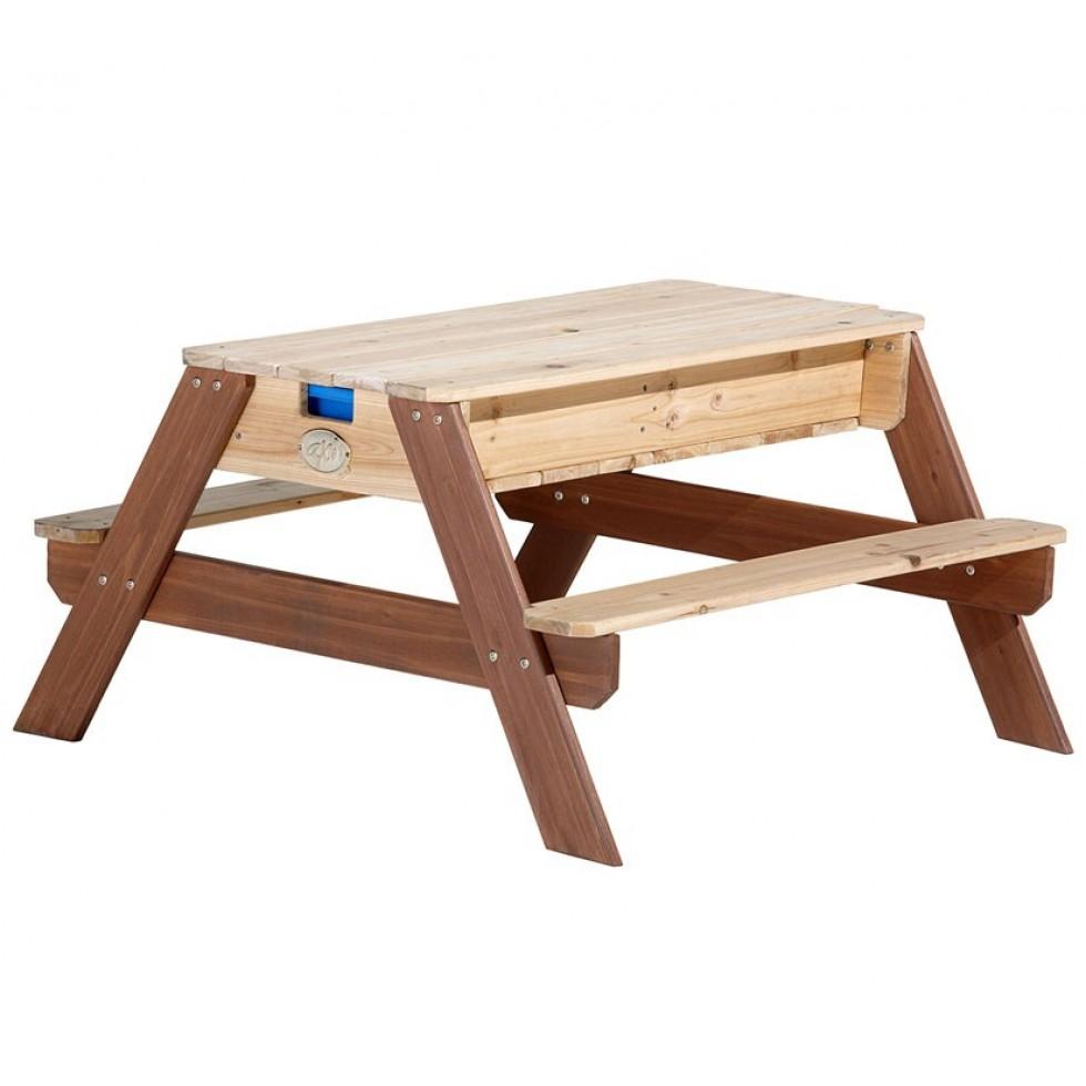 Tavolo sabbiera in legno sandy - Tavolo contenitore bambini ...