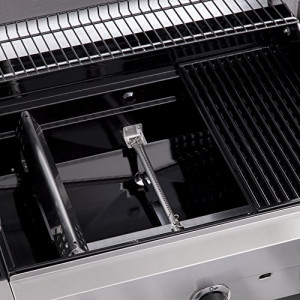BARBECUE A GAS CHAR-BROIL PERFORMANCE 340S - 3 Fuochi con Tecnologia TRU-Infrared, Finitura Acciaio Inox