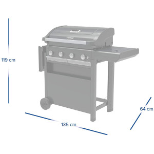 CAMPINGAZ BARBECUE A GAS 4 SERIES SELECT S