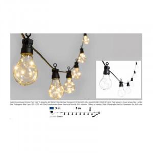 CATENA LUMINOSA PARTY 10 LAMPADE LED MT.5